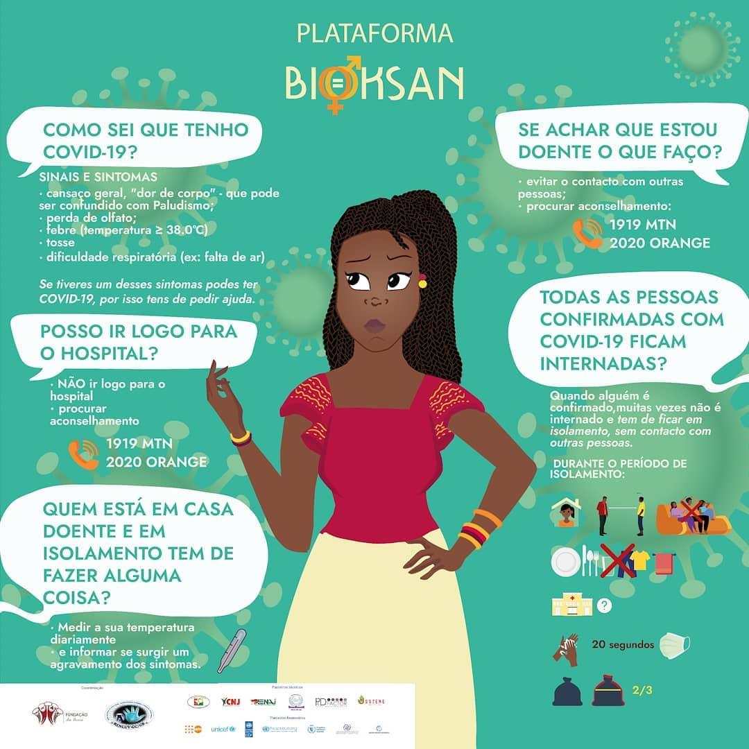Plataforma Bioksan, projecto COVID-19 Guiné Bissau