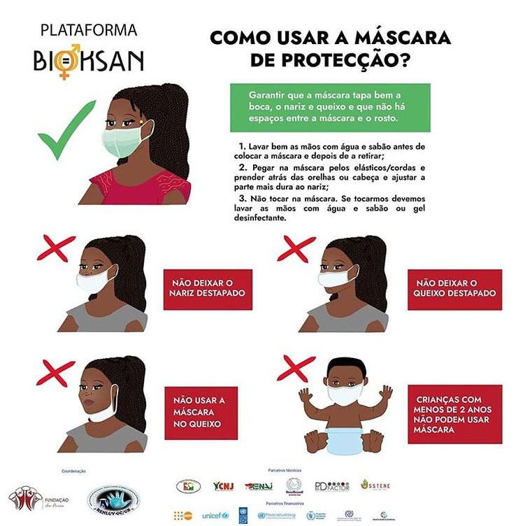 Como usar a máscara de proteção? Plataforma Bioksan